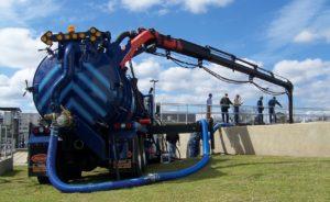 U.S. Submergent Technologies Truck Crew